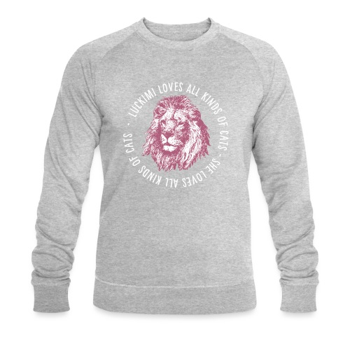 All kinds of cats - Men's Organic Sweatshirt by Stanley & Stella