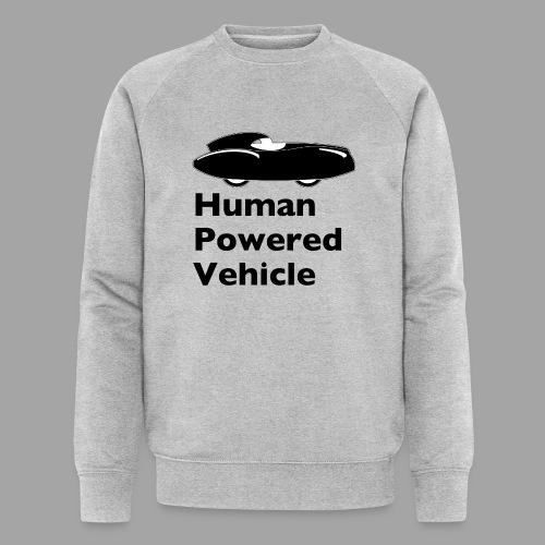 Quattrovelo Human Powered Vehicle black - Stanley & Stellan miesten luomucollegepaita