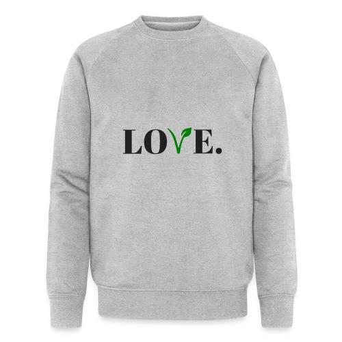 love - Mannen bio sweatshirt van Stanley & Stella
