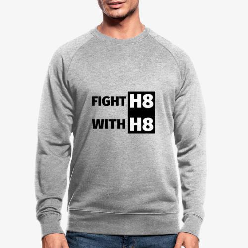FIGHTH8 dark - Men's Organic Sweatshirt