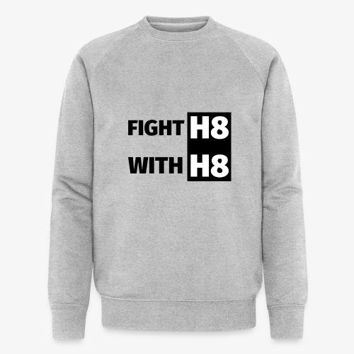 FIGHTH8 dark - Men's Organic Sweatshirt by Stanley & Stella