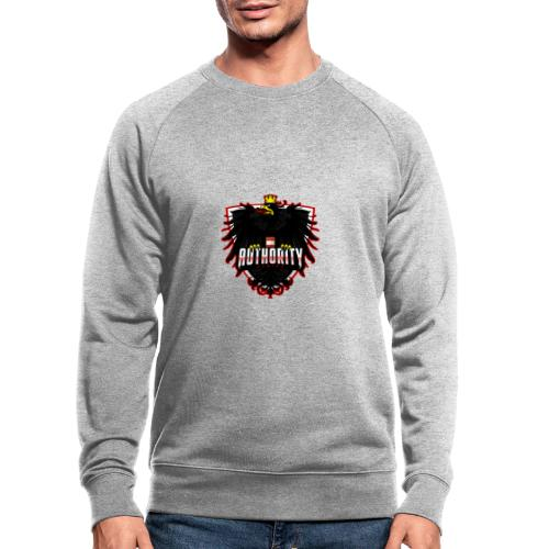 AUThority Gaming red - Männer Bio-Sweatshirt