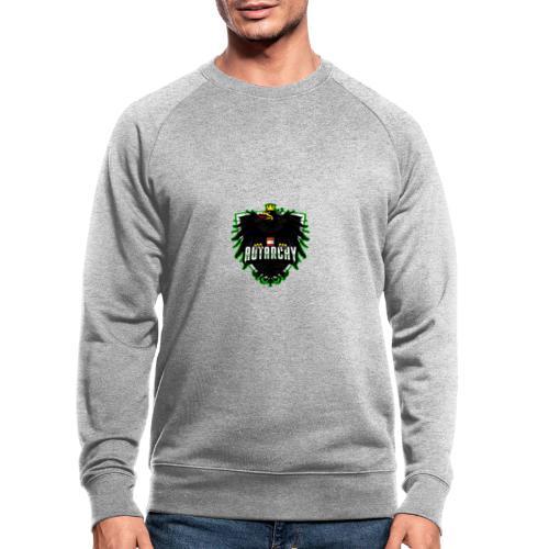 AUTarchy green - Männer Bio-Sweatshirt
