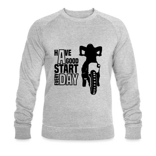 Have a good Start MX (HQ) - Männer Bio-Sweatshirt von Stanley & Stella