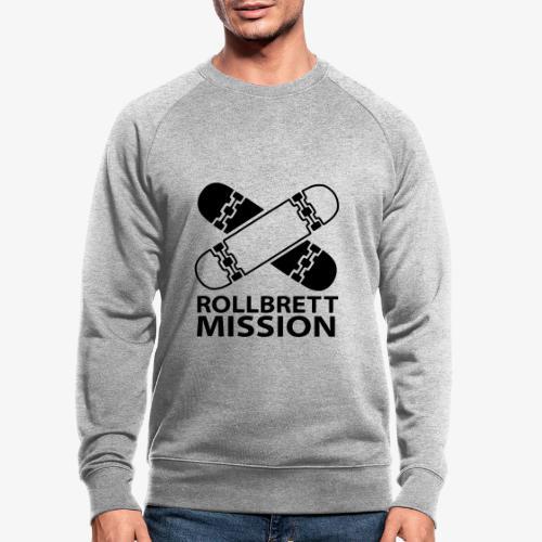 Logo Klassisch - Männer Bio-Sweatshirt