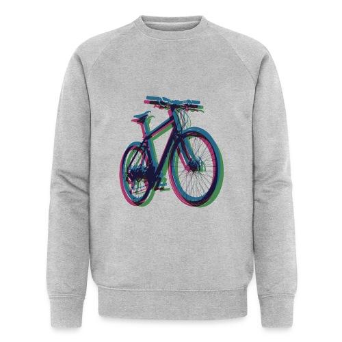 Bike Fahrrad bicycle Outdoor Fun Mountainbike - Men's Organic Sweatshirt by Stanley & Stella