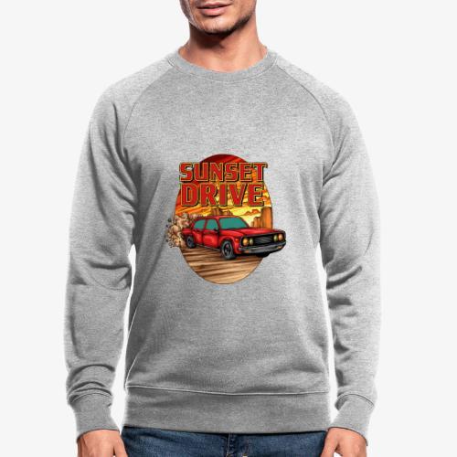 Sunset Drive - Männer Bio-Sweatshirt