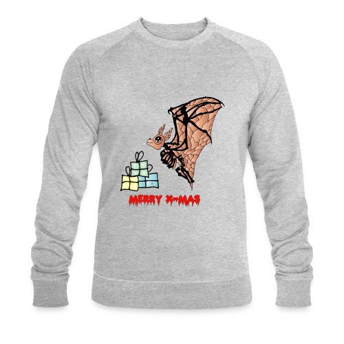 Merry X-MAS - Männer Bio-Sweatshirt