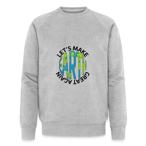 Let's Make Earth Great Again Square - Ekologisk sweatshirt herr från Stanley & Stella