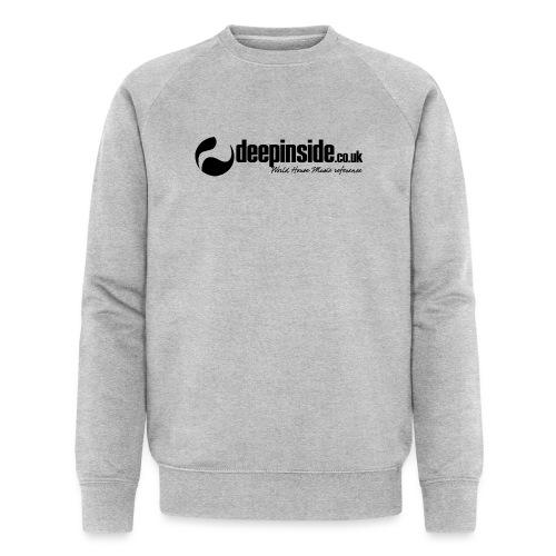 DEEPINSIDE World Reference logo black - Men's Organic Sweatshirt by Stanley & Stella