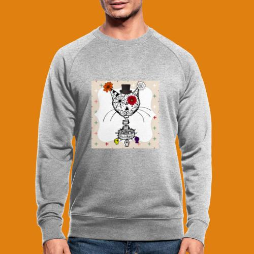 cat color - Men's Organic Sweatshirt