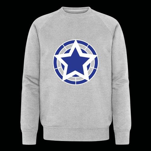 Stern Logo - Männer Bio-Sweatshirt von Stanley & Stella
