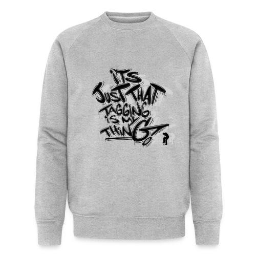 Just That Tagging - Økologisk sweatshirt til herrer