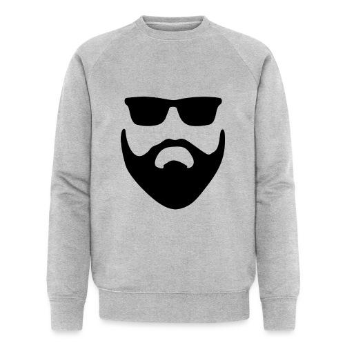 Bartman Silhouette - Männer Bio-Sweatshirt von Stanley & Stella