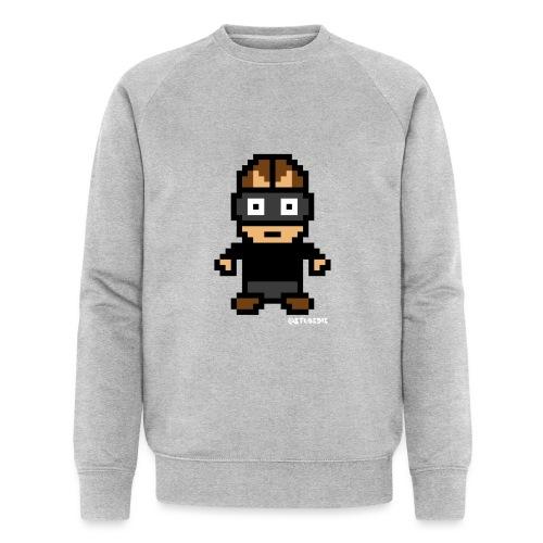 Die Zock Stube - Pixel Patrick - Männer Bio-Sweatshirt