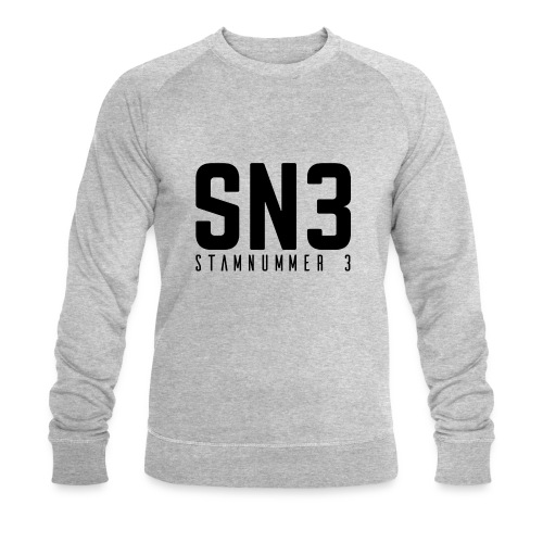 Stamnummer 3 - Mannen bio sweatshirt van Stanley & Stella