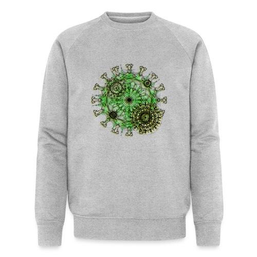 Virus 150220 ds. A - Men's Organic Sweatshirt by Stanley & Stella
