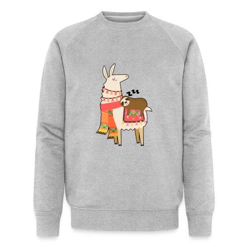 Funny Sloth Quotes - Männer Bio-Sweatshirt von Stanley & Stella