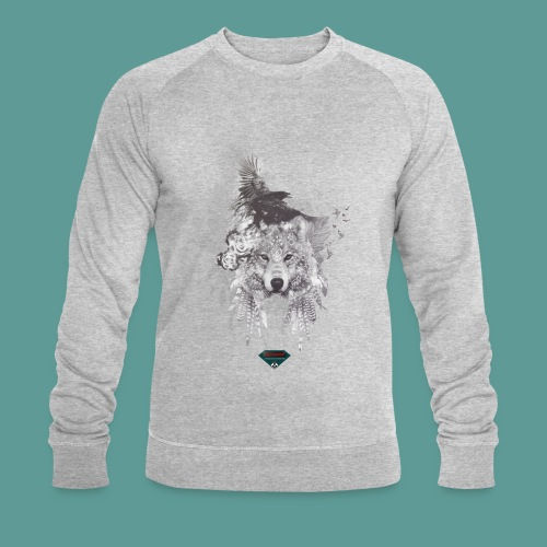 Mutagene Tattoo Pow Wow - Sweat-shirt bio Stanley & Stella Homme