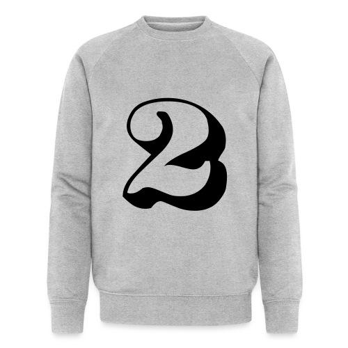 cool number 2 - Mannen bio sweatshirt van Stanley & Stella
