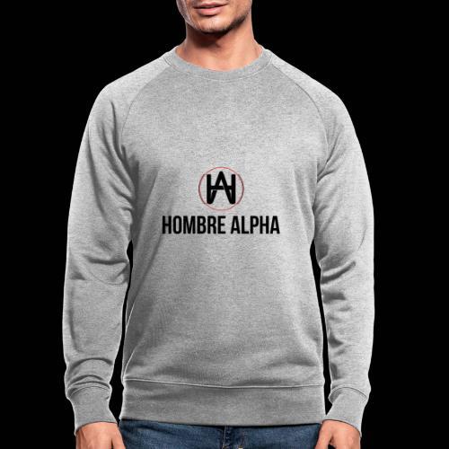 Hombre Alpha Logo - Sudadera ecológica hombre