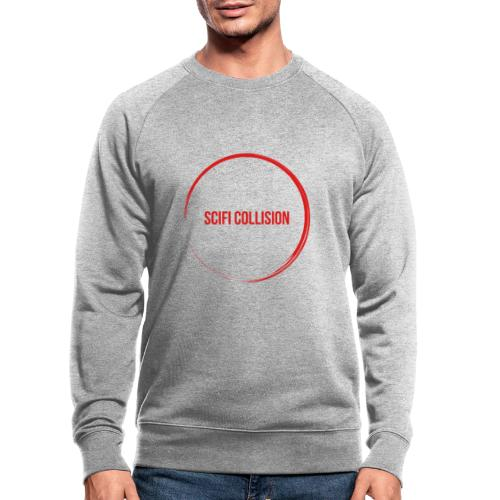 Red Logo - Men's Organic Sweatshirt by Stanley & Stella