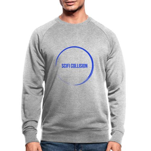 Dark Blue Logo - Men's Organic Sweatshirt by Stanley & Stella