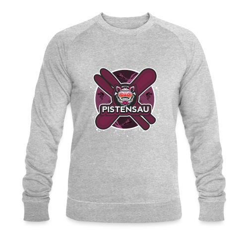 PistenSau Lachshimmel - Männer Bio-Sweatshirt von Stanley & Stella