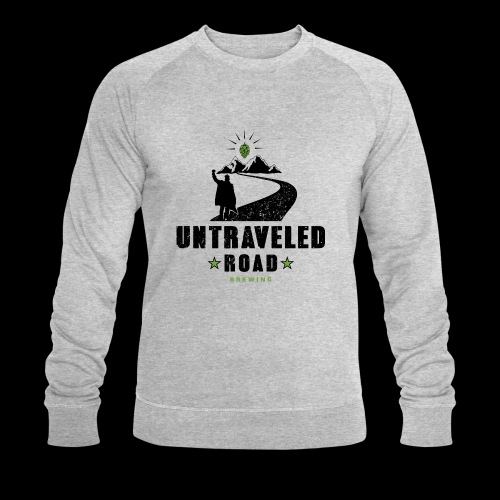 Untraveled Road Logo - black/small - Männer Bio-Sweatshirt von Stanley & Stella