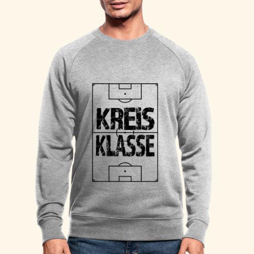 KREISKLASSE im Fußballfeld - Männer Bio-Sweatshirt