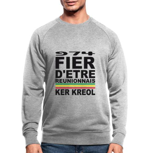 974 ker kreol fier et culture - Sweat-shirt bio