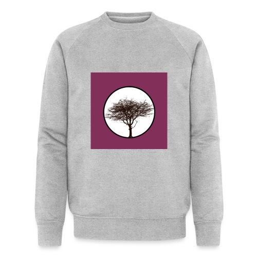 Baum in Kreis - Männer Bio-Sweatshirt