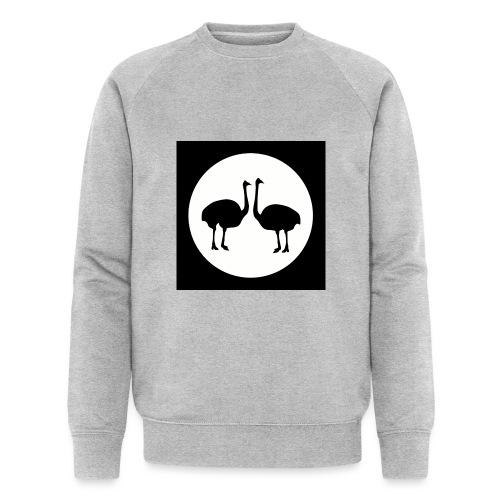 Strauß - Männer Bio-Sweatshirt