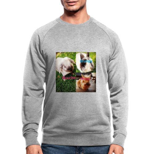 Mygoodanimallife - Mannen bio sweatshirt