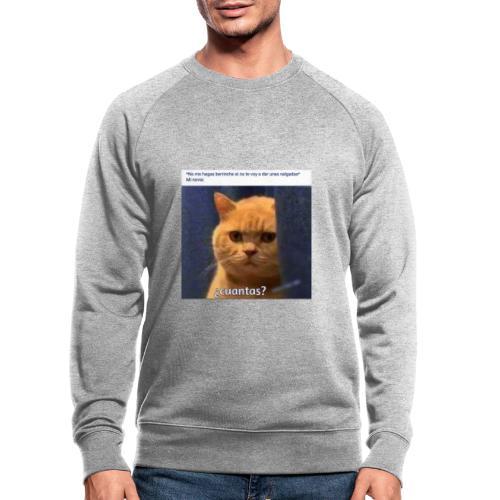 Cat nalgadas - Sudadera ecológica hombre