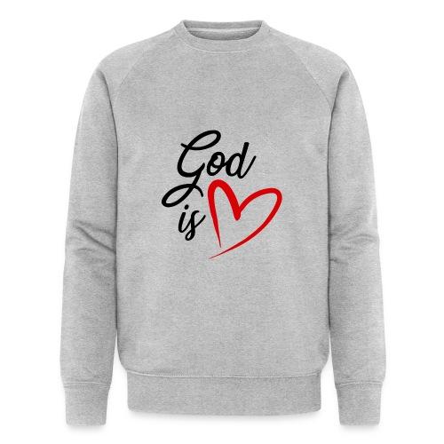 God is love 2N - Felpa ecologica da uomo di Stanley & Stella