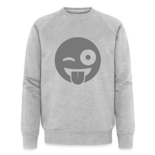 Emoji - Männer Bio-Sweatshirt