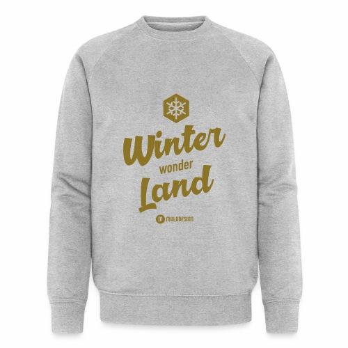 Winter Wonder Land - Stanley & Stellan miesten luomucollegepaita