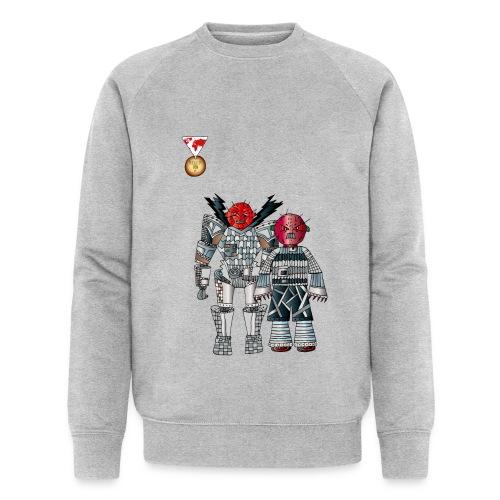 Trashcans - Männer Bio-Sweatshirt