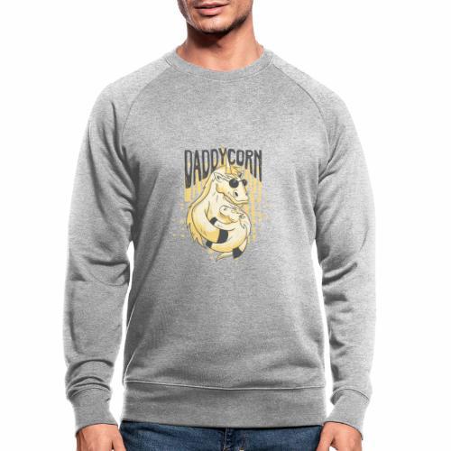Daddycorn - Einhörner für echte Papas - Männer Bio-Sweatshirt