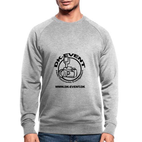 Sort trans - Økologisk sweatshirt til herrer