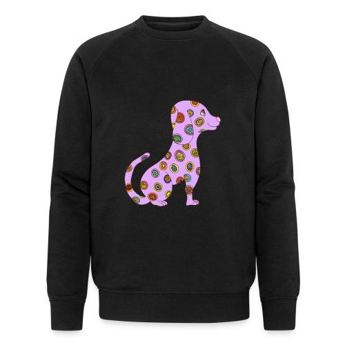 Le chien fleuri - Sweat-shirt bio Stanley & Stella Homme