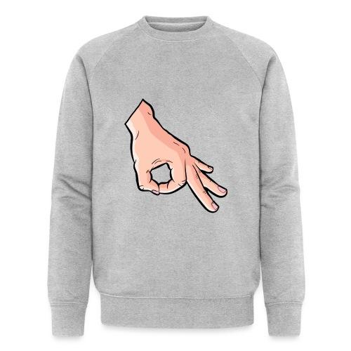 The Circle Game Ok Emoji Meme - Men's Organic Sweatshirt