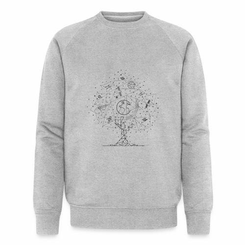 Interpretacja woodspace - Ekologiczna bluza męska Stanley & Stella