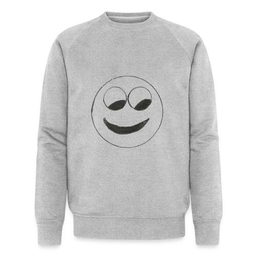Smiley - Männer Bio-Sweatshirt von Stanley & Stella