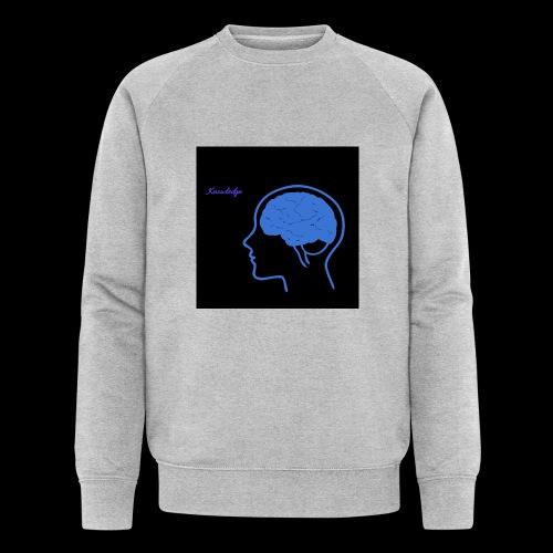 Knowledge - Men's Organic Sweatshirt by Stanley & Stella