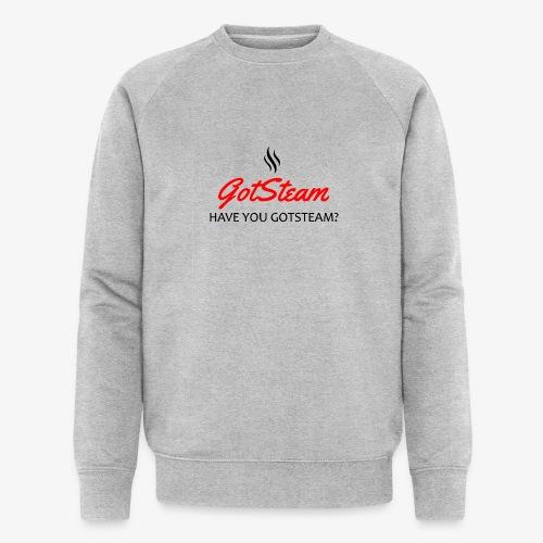 GotSteam top Logo-01 (333 - Men's Organic Sweatshirt by Stanley & Stella