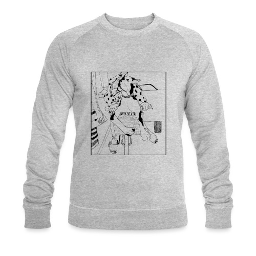 Beauty on a bicycle - Men's Organic Sweatshirt by Stanley & Stella