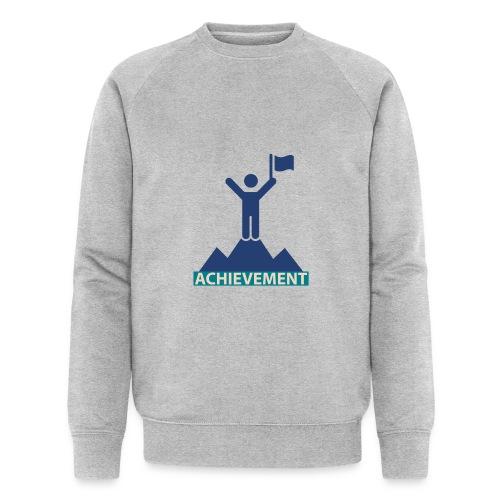 Typo Achivement by CloudMonde - Men's Organic Sweatshirt by Stanley & Stella
