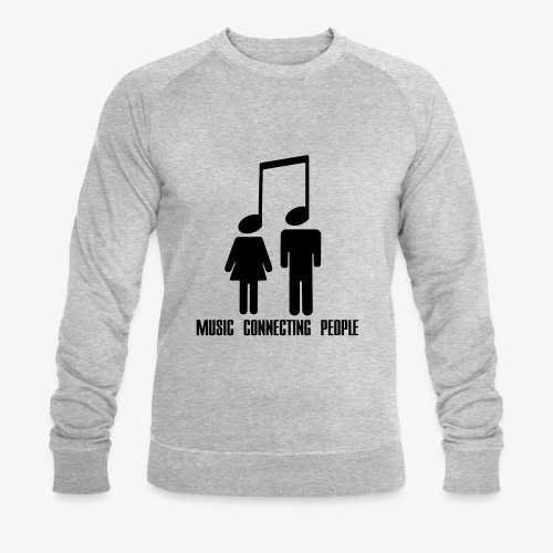 Music Connecting People - Männer Bio-Sweatshirt von Stanley & Stella
